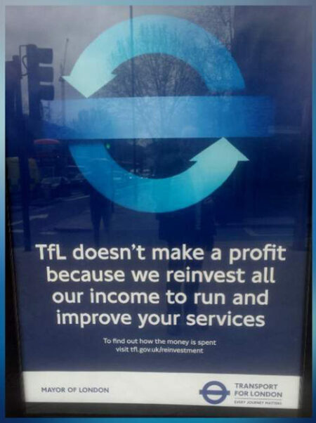 Can you see the grammatical error in this poster? TfL didn't and the poster had to be pulped at a cost of £100,000